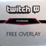 Free Twitch Overlay  | Photoshop Tutorial | Molten Pixel TV
