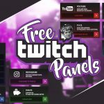 Free Twitch Panels psd