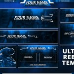 Free GFX: Free Social Media Pack / Twitch, Youtube & Twitter Templates