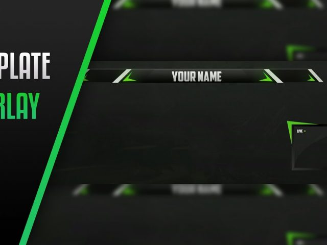 FREE Twitch Overlay Template #2 – By HasherArtz