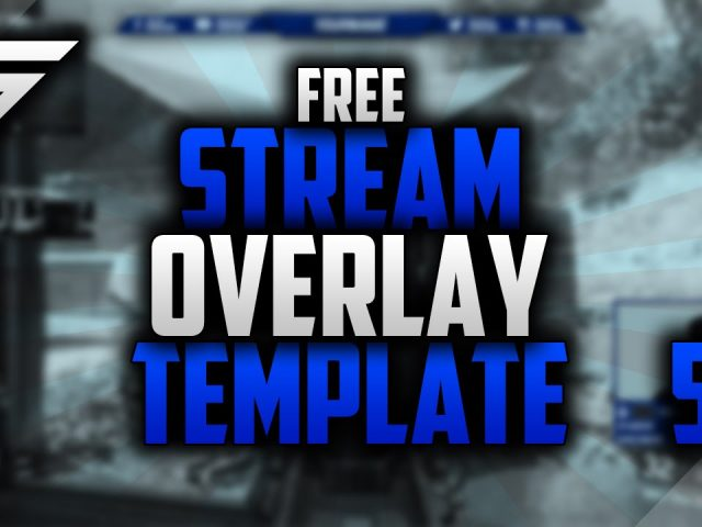 Free Twitch Overlay Template | Speedart #50 | Photoshop CC | Seangraphicx