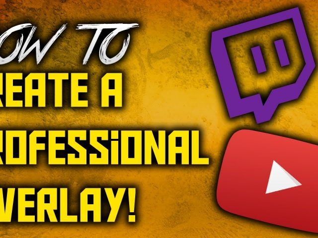 How To Make A Professional Overlay For Free In Pixlr (No Software)