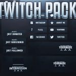 Free GFX: Free OwenDesigns 1,000 Subscribers Twitch Template Pack | Free PSD Download Link (2016)