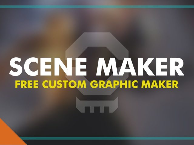 FREE SCENE MAKER – Make Custom Intro, Outro, and BRB Scenes for Twitch, YouTube Gaming, and More!