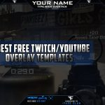 BEST FREE TWITCH and YOUTUBE OVERLAY TEMPLATES | #1