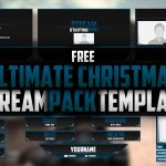 Stream Pack Template | Twitch | Free Download | Seangraphicx