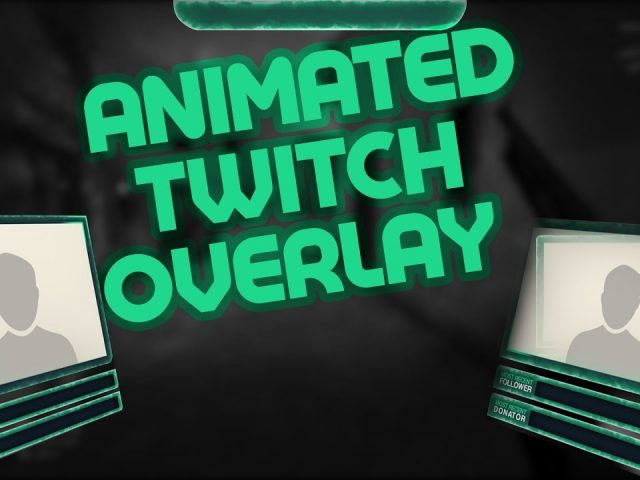 Free Animated Twitch Overlay