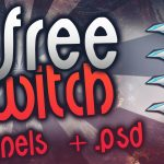 [4 free] Twitch Panels - Download .psd