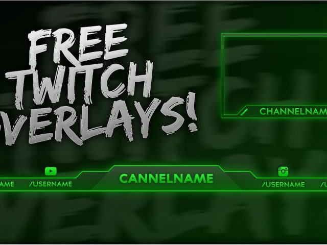 Free Twitch Overlay Template PSD + Direct Download Link – [NEW 2015!]
