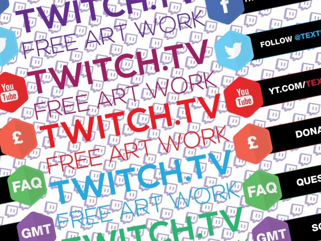 FREE Twitch Overlay panels & more…
