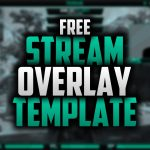 Free Twitch Overlay Template | Speedart #41 | Free Download | Photoshop CC