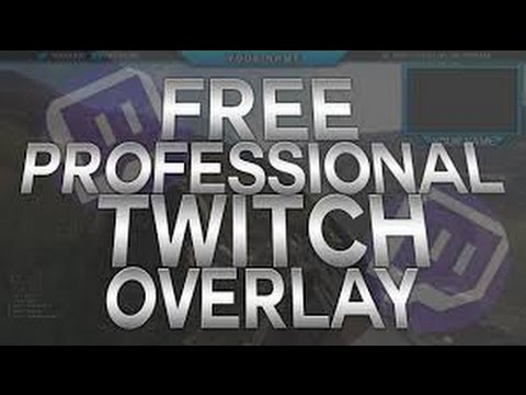 How to get a PRO Twitch overlay FREE! – Dansk
