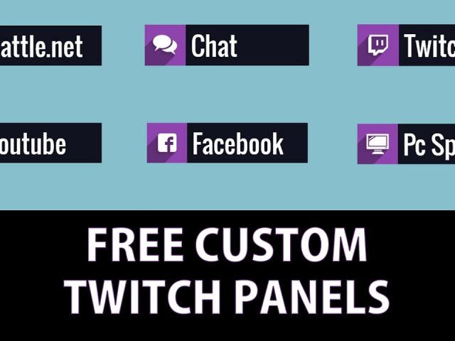 Free twitch panel buttons!!