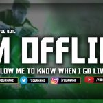 Twitch OFFLINE Screen FREE Template! (Download Link)