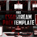 CSGO Stream Pack Template PSD | Free Download | Twitch | Seangraphicx
