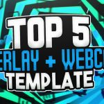 TOP 5 FREE STREAMING OVERLAY + WEBCAM TEMPLATE 3! | Photoshop CC & CS6