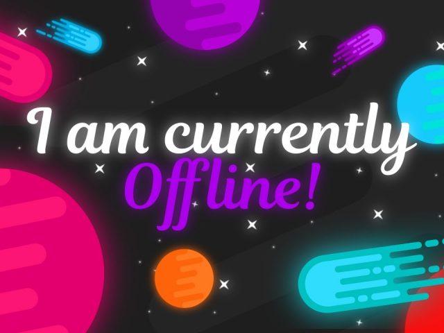 Free Twitch 'Offline' Background   #3 – 'Nova'