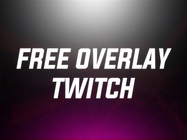 Free Twitch Overlay   | Template Editable   Photoshop  | Dota2 – Leagues of legends  |  CSGO