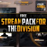 The Division Twitch Stream Pack Template | Free Download