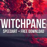 Twitch Panel | Speedart & Free Download - Designed by Justmoe