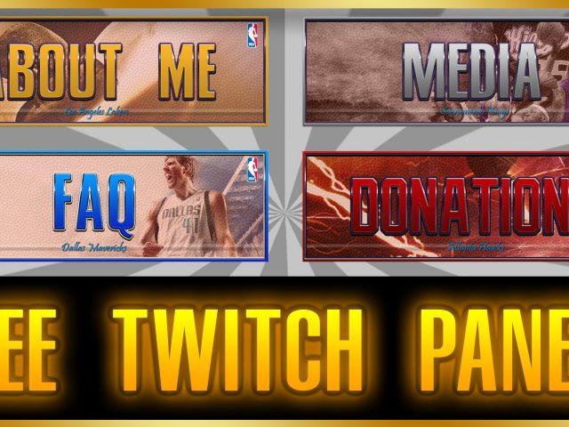 NBA 2K17 FREE Twitch Panels
