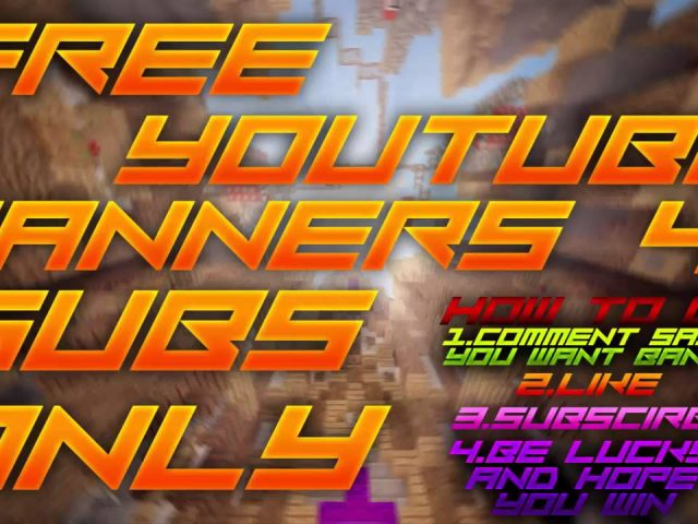 Free Youtube,Twitch,Twitter Banner GIVEAWAYS!!!!