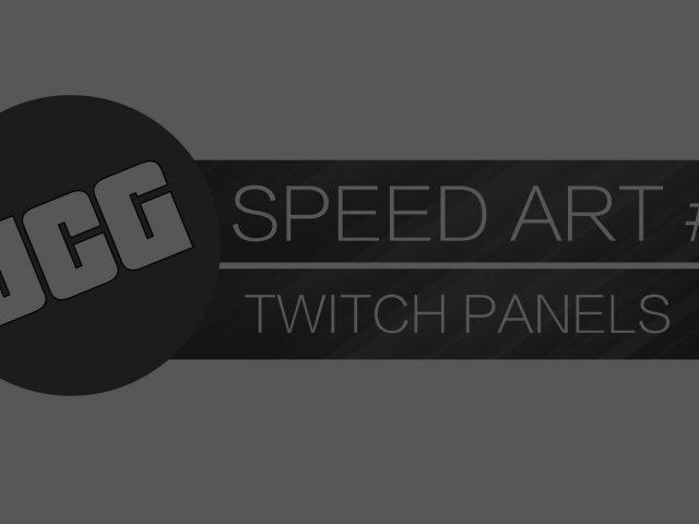UltraChaosGamez – Twitch Panels – Speed Art #3