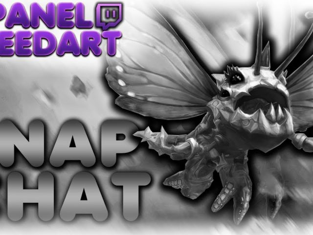 SPEEDART: TWITCH PANELS – League of Legends  // #01