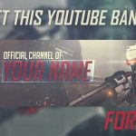 Gaming Banner For Youtube Channel | free psd