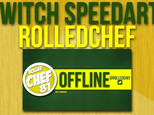 Speedart#2- Rolled Chef Offline Twitch Banner