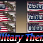FREE Twitch Tv Panels/Buttons | Military Theme | Pack 7