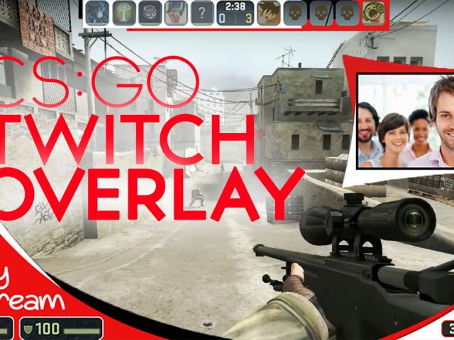 FREE TWITCH OVERLAY TEMPLATE! | EASY DOWNLOAD AND EDIT!