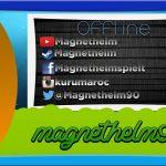 Speed Art: Magnethelm90  – Twitch Offline Banner + Infos in der Beschreibung | NoArtFX