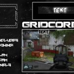 """""""Orb"""" Grey Free Twitch Overlay, Facecam &  Info Panels Pack Template"""