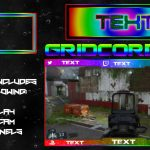 """""""Rainbow"""" Free GFX Overlay, Facecam, Twitch/HitBox Info Panels Template GFX Pack"""