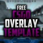 Free CsGo Twitch Overlay Template   Speedart #38