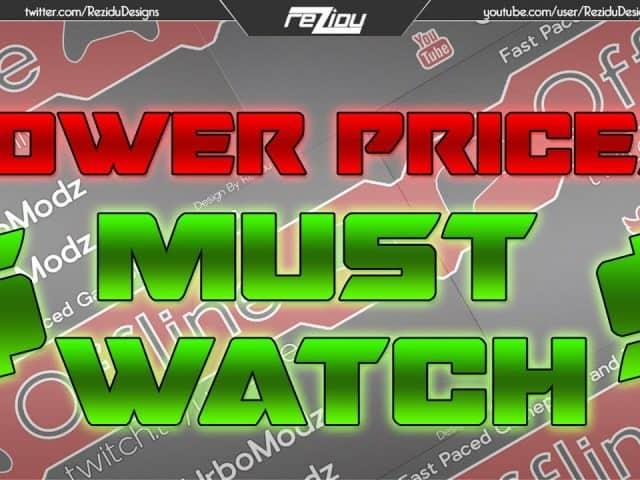 LOWER PRICES! Twitch Offline Graphic Speed Art