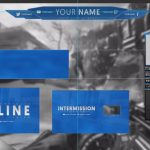 Twitch Template Overlay Pack! FREE Starter Kit HD [1080p HD 60fps]