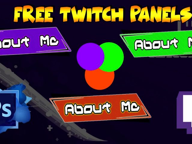 Free Panels Twitch 3 Colours by Okio