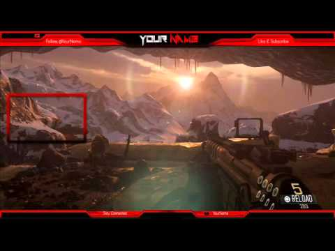 Free Twitch Overlay Template PSD