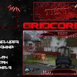 """Undead"" Free GFX Overlay, Facecam, Twitch/HitBox Info Panels Template GFX Pack"