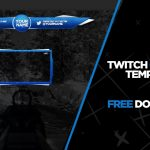 Twitch Overlay Template #2 – Free download!
