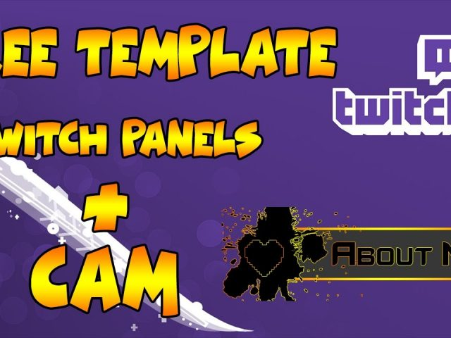 Free Template Twitch by Okio [Panels]