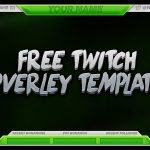 FREE Twitch Overlay Template PSD – Free Download – Free GFX