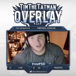 Free Twitch Overlay Template – TimTheTatman Cam – PSD – Free Download