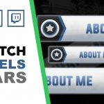 Twitch Panels | Universal Stars | Speed Art | FREE download | www.WDFLAT.com
