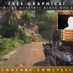"Free Graphics: Photoshop Twitch video overlay: ""Black Ops 3"" template #7 @YLLiBzify"