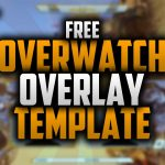 Free Twitch Overlay Template for Overwatch | #45 | Photoshop CC | Seangraphicx