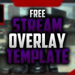 Free Twitch Overlay | Speedart #03