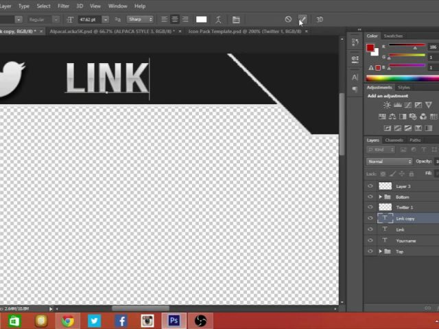 Free Twitch/YouTube Overlay Template Photoshop #3 (Speed Art)